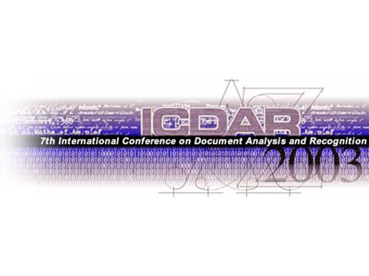 Proceedings of the Seventh International Conference on Document Analysis and Recognition (ICDAR2003)
