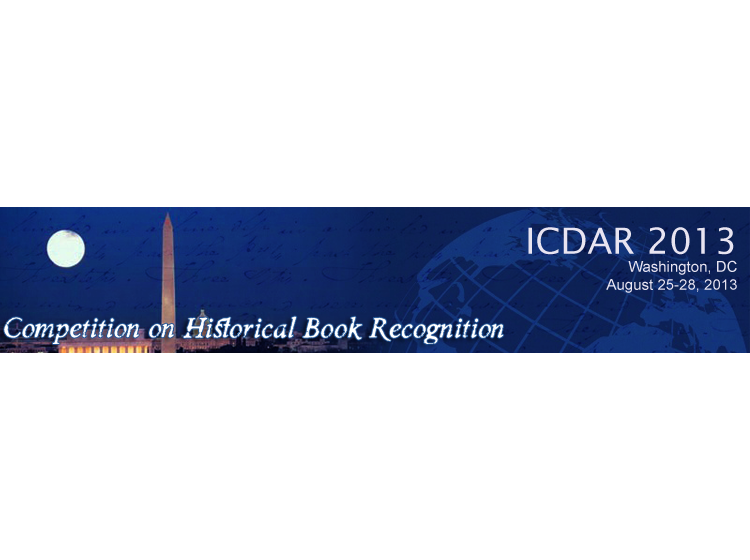 HBR2013 - Competition on Historical Book Recognition