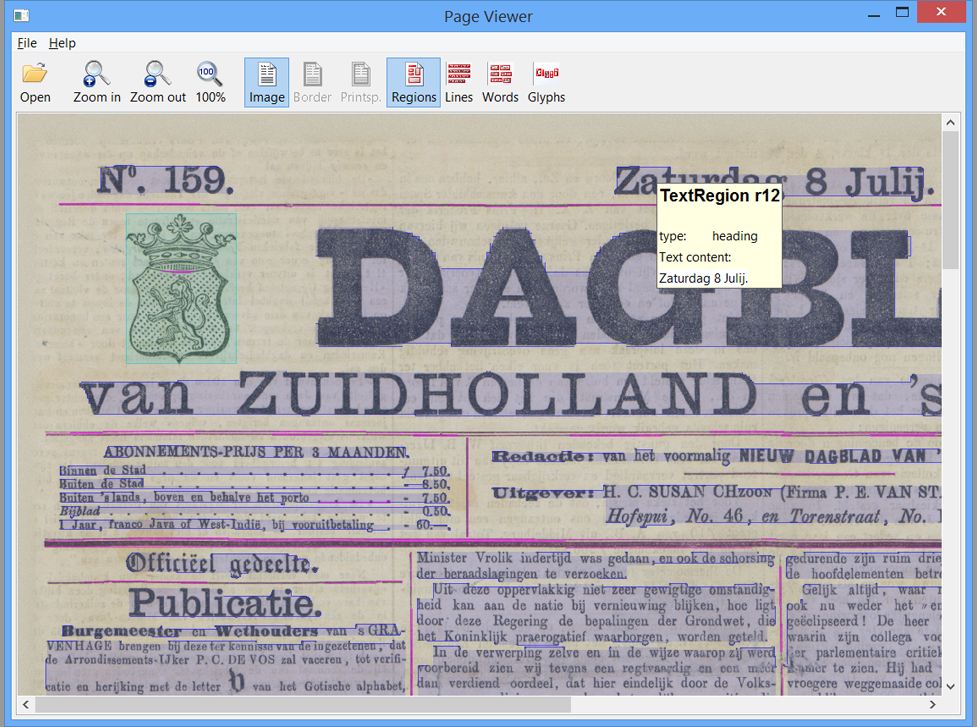 Need to analyse the quality of your digitised newspapers? Our tools can help.